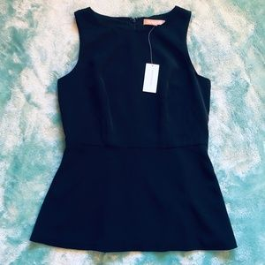 NWT Banana Republic | Black Sleeveless Shell Tank